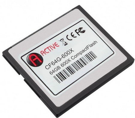 Active Media Pro Series 600X CompactFlash Card