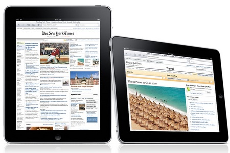 Apple iPad Tablet Device safari