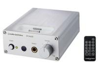 Audio Technica AT-HA35i Headphone Amp doubles as an iPod Dock