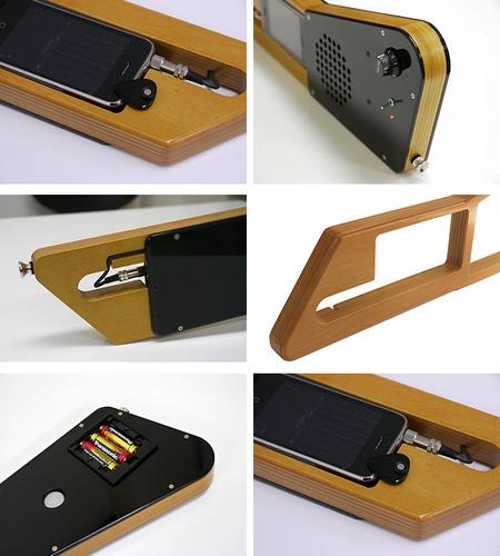 Bird-Electron EZISON 100 iPhone Guitar details