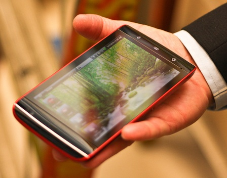 Dell Mini 5 Android Tablet Concept on hand