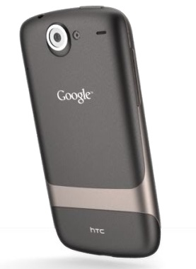Google Nexus One Android 2.1 Smartphone back