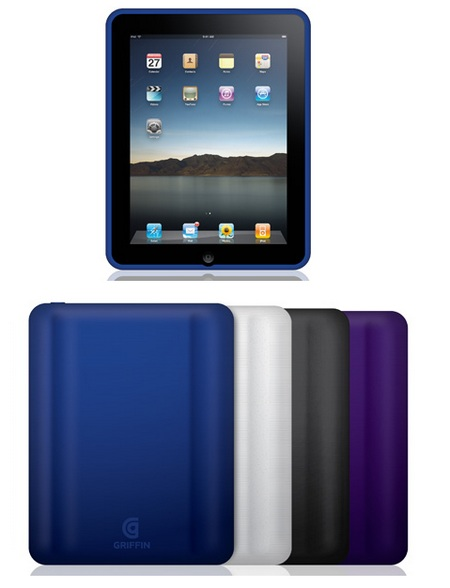 Griffin FlexGrip flexible silicone skin for ipad