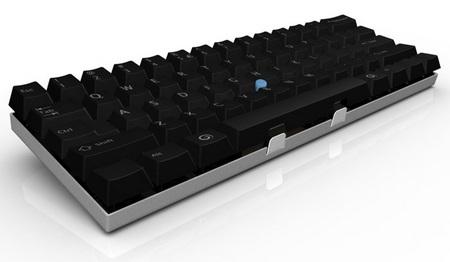 Guru'board Miniguru Keyboard Keeps fingers on the home row