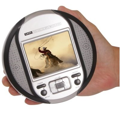 Hammacher Palm-sized DVD Player