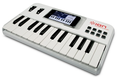 Ion Audio iDiscover Music Keyboard for iPhone iPod touch