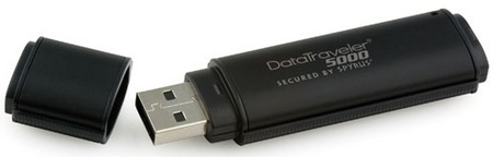 Kingston DataTraveler 5000 Ultra-Secure USB Flash drive