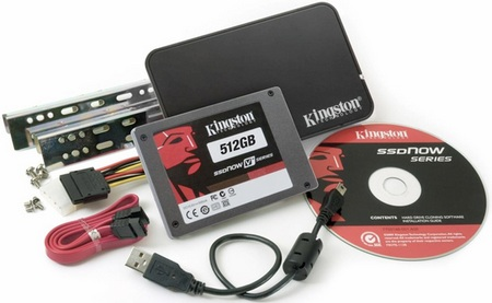 Kingston SSDNow V+ with TRIM Support and 512GB Capacity