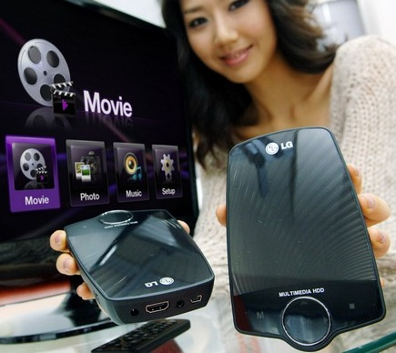 LG XF2 HD Media Player