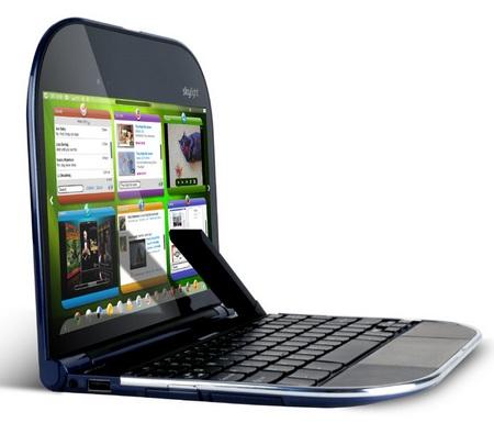 Lenovo Skylight ARM SnapDragon-powered Smartbook side