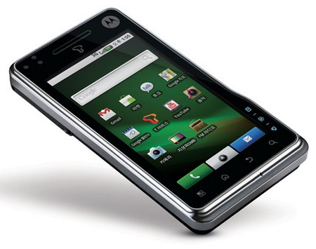 Motorola MOTOROI Android 2.0 Smartphone for Korea