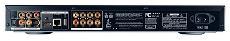 Oppo BDP-80 Blu-ray SACD Player back