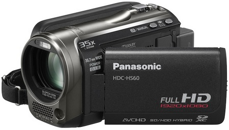 Panasonic HDC-HS60 Full HD Camcorder