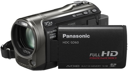 Panasonic HDC-SD60 Full HD Camcorder