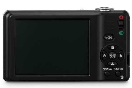 Panasonic Lumix DMC-F3 Camera back