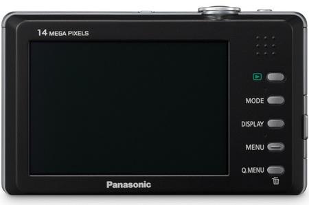 Panasonic Lumix DMC-FP3 ultra slim digital camera back