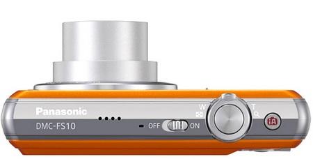 Panasonic Lumix DMC-FS10 and DMC-FS11 Slim DigiCams top