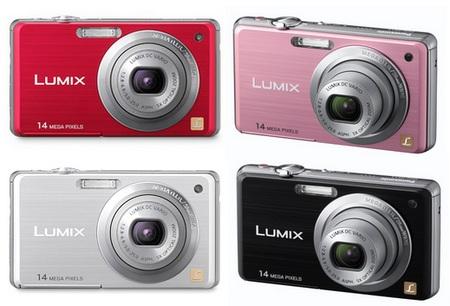 Panasonic Lumix DMC-FS11 digital camera colors