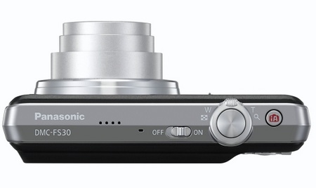 Panasonic Lumix DMC-FS30 Digital Camera top