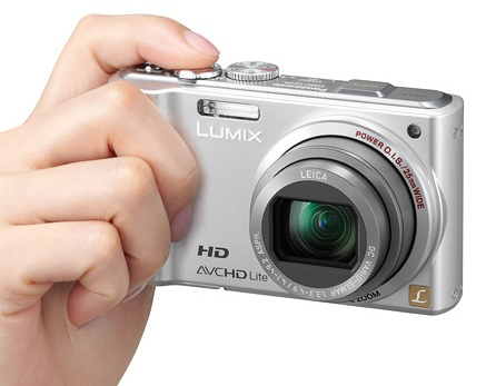 Panasonic Lumix DMC-ZS7 Digital Camera geotagging on hand