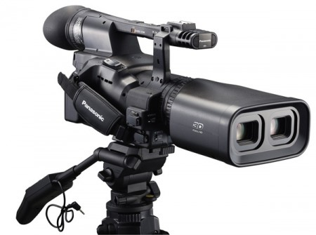 Panasonic Twin-lens Full HD 3D Camcorder