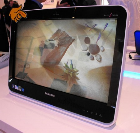 Samsung MU200 All-in-One PC Caught at CES 2010