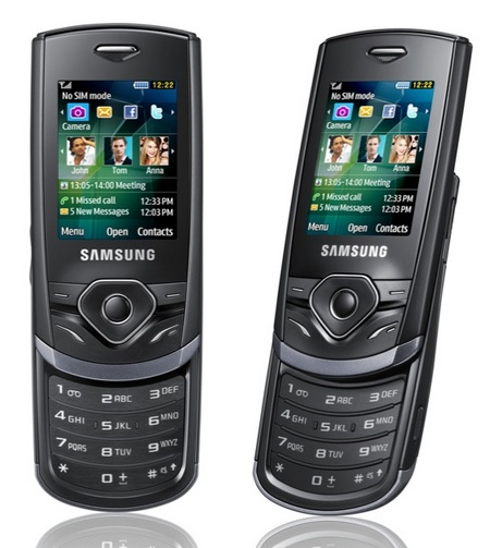 Samsung Shark 3 S3550 slider phone