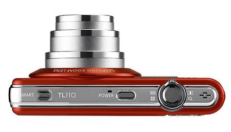 Samsung TL110 Slim Digital Camera Top