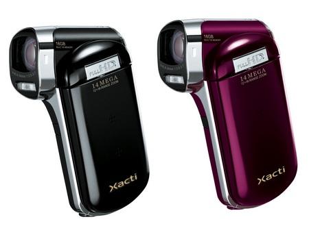 Sanyo Xacti DMX-CG110 Dual Camera does Full HD Recording
