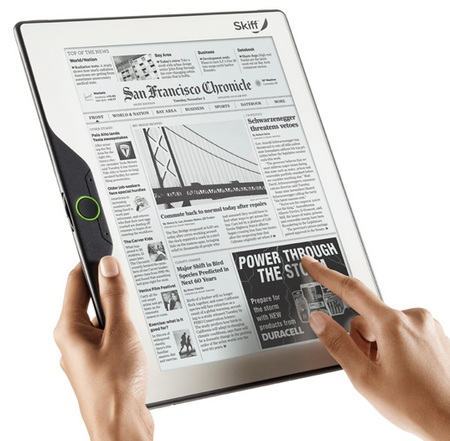 Skiff Reader 11.5-inch e-Book Reader with WiFi and 3G