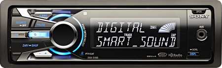 Sony DSX-S100 car stereo
