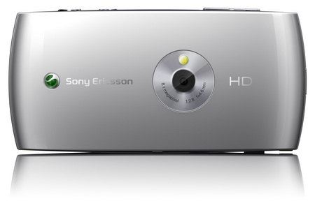 Sony Ericsson Vivaz Symbian Phone with 8Mpix Camera Back