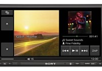 Sony XAV-70BT in-car AV Center