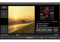 Sony XAV-70BT in-car AV Center