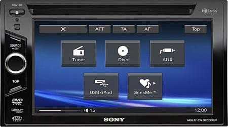 Sony XAV-V60 in-car av center