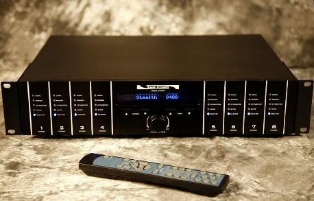 Stealth Acoustics SA8400 Amplifier
