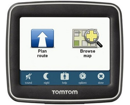 TomTom EASE entry-level GPS Device