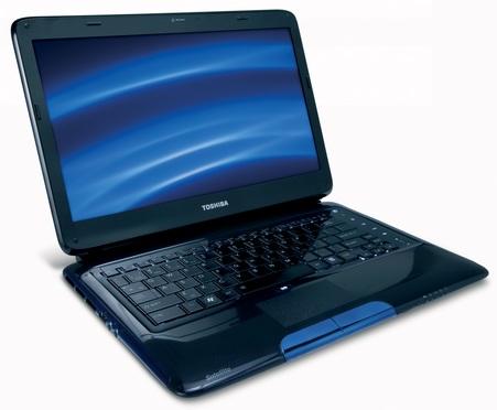 Toshiba Satellite E205 Notebook with Intel Wireless Display Technology