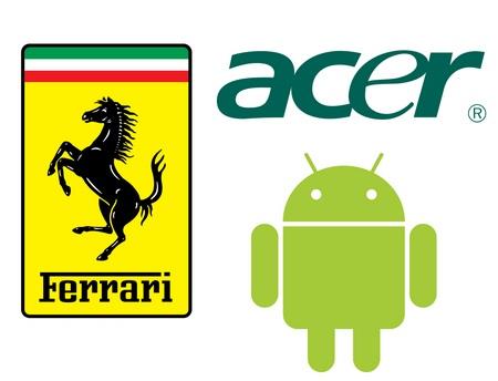 Acer Ferrari Smartphone runs Android 2.1