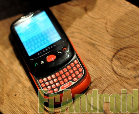 Alcatel OT-980 Android Phone looks like the Palm Pre