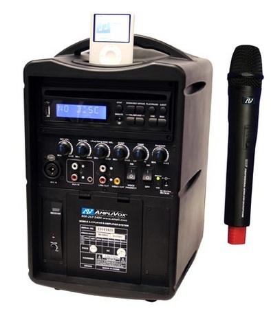 AmpliVox iPod Wireless PA System