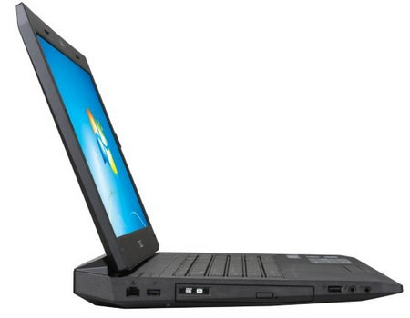 Asus G73JH-X1 Core i7 Gaming Notebook side