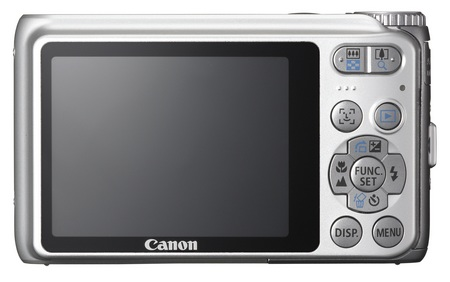 Canon PowerShot A3100 IS digital camera back