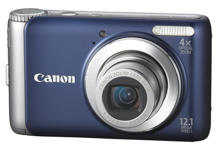 Canon PowerShot A3100 IS digital camera blue
