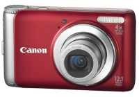 Canon PowerShot A3100 IS digital camera red