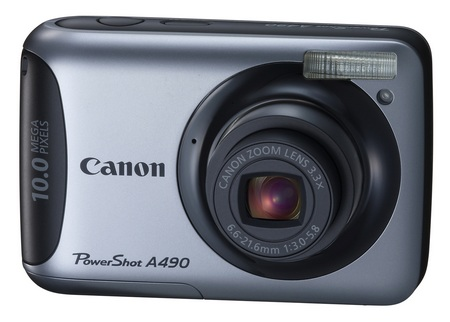 Canon PowerShot A490 entry-level digicam