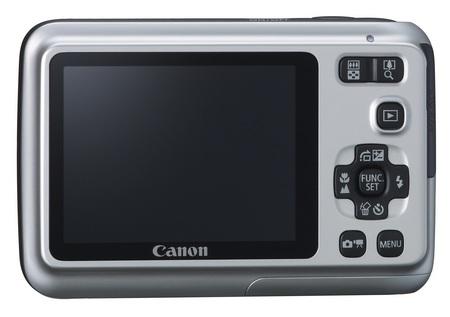 Canon PowerShot A495 entry-level digicam back