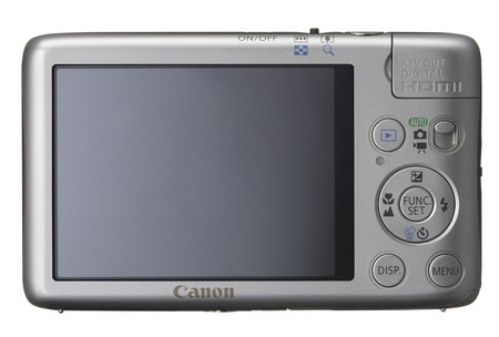 Canon PowerShot SD1400 IS digital camera back
