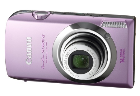Canon PowerShot SD3500 IS ELPH Digital Camera Pink