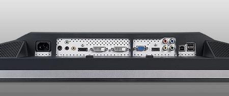 Dell UltraSharp U2711 IPS LCD Display ports
